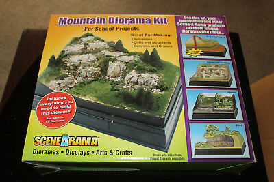 Scene A Rama Mountain Diorama Kit, New in Box #SP4111