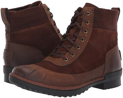 e555287db8c WOMEN'S SHOES UGG CAYLI Leather & Suede Duck Rain Boots 1095160 COCONUT  *New*