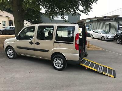 Fiat Doblo Dynamic wheelchair accessible adapted mobility disabled vehicle car