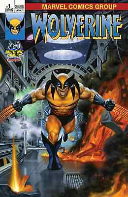 Return Of Wolverine 1 Joe Jusko Midtown Variant Nm
