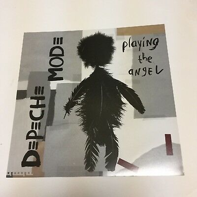"""Depeche Mode """"playing the angel""""...2-sided promo poster flat"""