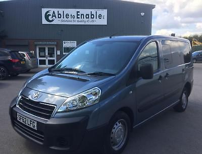 Peugeot Expert Tepee Comfort Wheelchair Accessible Disabled Mobilty Vehicle WAV