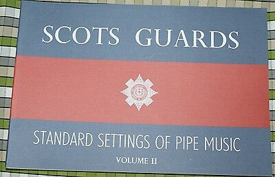 SCOTS GUARDS SETTINGS VOL 2 BOOK TUNES FOR HIGHLAND BAGPIPES music pipes