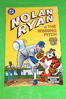 Nolan Ryan In The Winning Pitch VF 8.0 Sports Illustrated - DC - Tony the Tiger