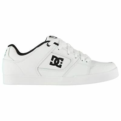 372a9d4b7aa0b DC Blitz II Skate Shoes Mens White/Black Skateboarding Trainers Sneakers