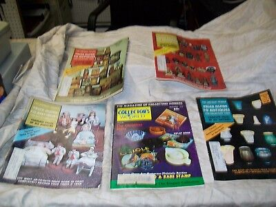 The Antique Trader price guides to antiques & Collectors World from 1972 & 1974