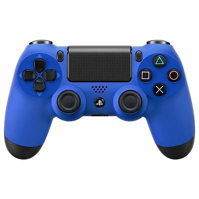 NEW PlayStation 4 DUALSHOCK4 Wireless Controller - Blue SHARE button