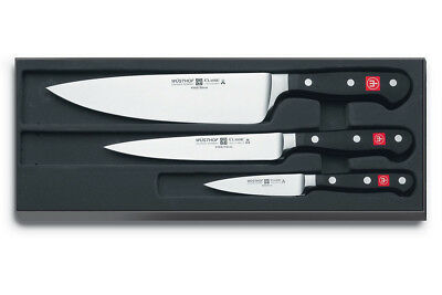 NEW Wusthof Classic 3 Piece Knife Set