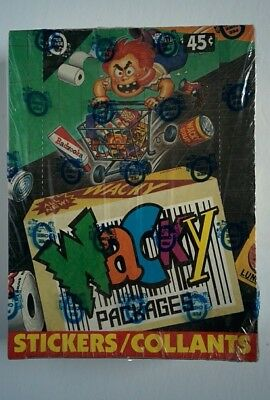 O-Pee-Chee OPeeChee OPC Wacky Packages Stickers FACTORY SEALED Box 36 Ct.