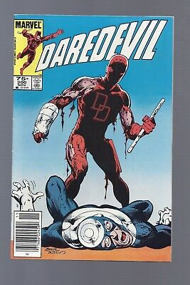 Canadian Newsstand Edition $0.75 Price Variant Daredevil #200