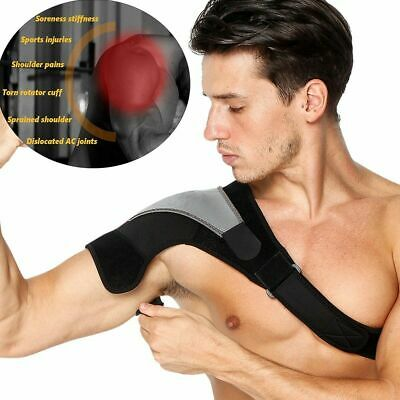 Shoulder Support Brace Rotator Cuff Joint Fixed Dislocated Adjustable Belt Men