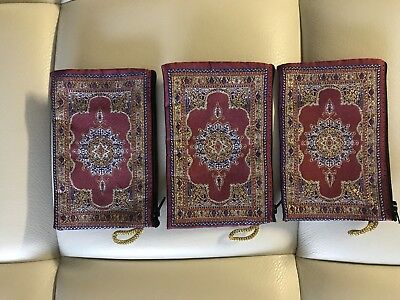 New Lot Of 3 Turkish Ottoman Kilim Design Coin Purse Cell Phone Bag