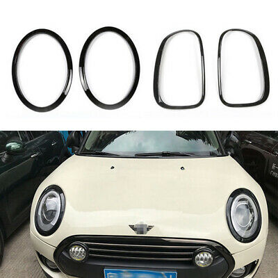 4pcs/set Headlight Taillight Surround Rim Trim Ring For Mini Cooper F55 F56