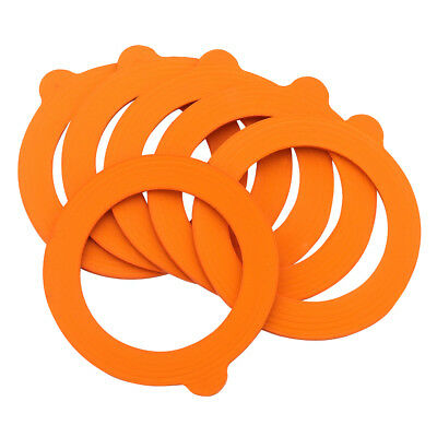 NEW Ecology Harvest Small Rubber Ring Set Of 6