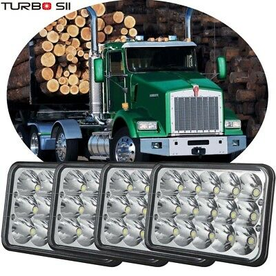 4p 4x6'' LED Headlight Hi/Lo Sealed Beam for Kenworth T800 T400 T600 W900B W900L