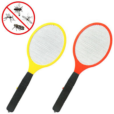 Electric Fly Mosquito Swatter Mosquito Killer Bug Zapper Racket Insects Killer