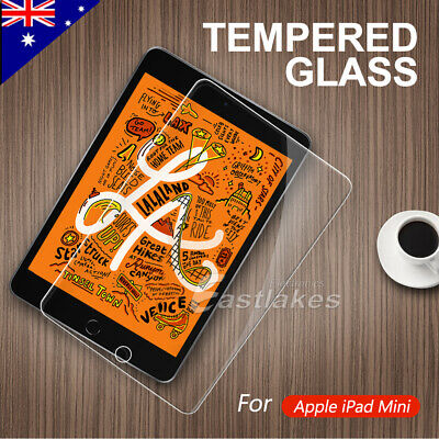 Apple iPad Mini 1 2 3 4 2019 Scratch Resist Tempered Glass Screen Protector Film