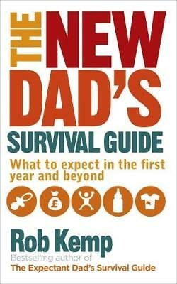 New Dad's Survival Guide by Rob Kemp New Paperback Book