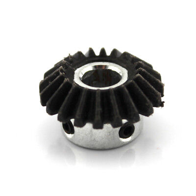 8mm 1:1 Bevel Steel Drive Gear 1 Modulus 20 Teeth 90 Degree Screw Hole M4 2pcs