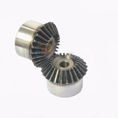 1Pcs Bevel Gear 3.0 Mod 16T 90 Deg 1:1 Pairing Metal Bevel Gear New