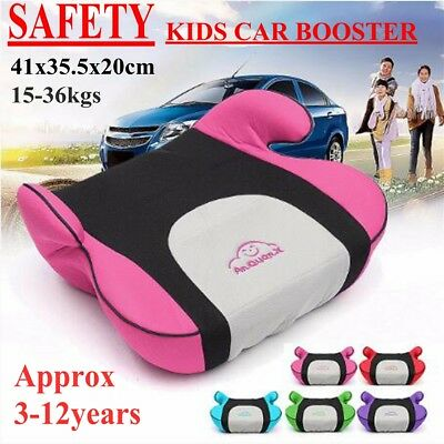Backless Youth Booster Car Seat Chair Backless Heightening Pad For Baby Children