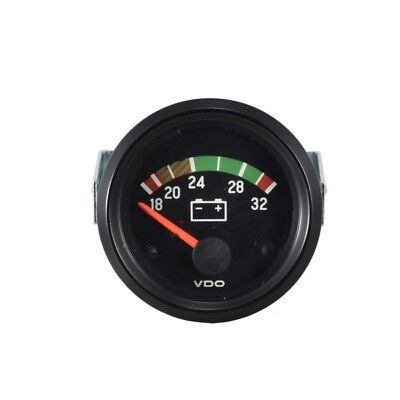 332-030-001G VDO Voltmeter 12V Instrument 52mm Gauge Cockpit