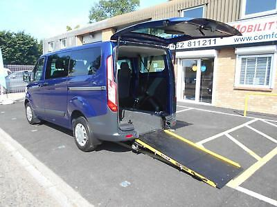 Ford Transit Custom 2.2TDCi ( 100PS ) WHEELCHAIR ACCESSIBLE VEHICLE