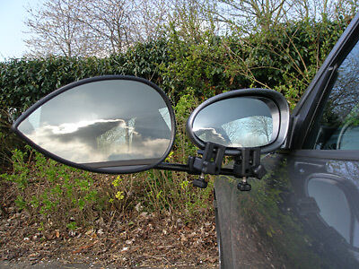 MILENCO Aero 3, Flat Glass Towing Mirror, Strap-Free, Single Pack (ML1588)