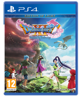 Dragon Quest Xi - Edition Of Light Ps4 Videogame Italiano Nuovo Playstation 4