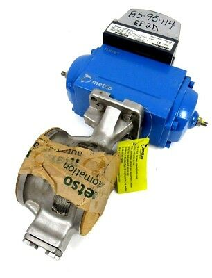 New Metso Nd9102Hn Valve Positioner And Valve Raa080As Ec07