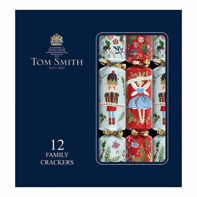 Christmas Premier Deluxe TOM SMITH Crackers Festive Xmas Decorations