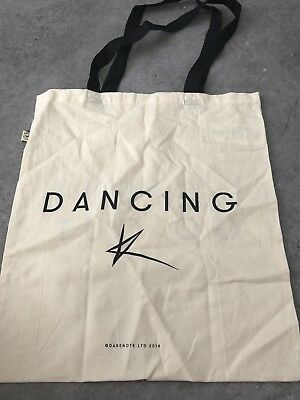 Kylie Minogue I Wanna Go Out Dancing Official Tote Bag - Golden