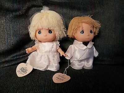Precious Moments Baby Bride and Groom Doll