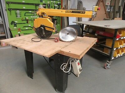 Dewalt DW 729 Radial Arm Saw
