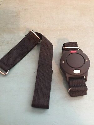 New 911 Help Now Emergency Call Button Wristband No Monthly Fees Black