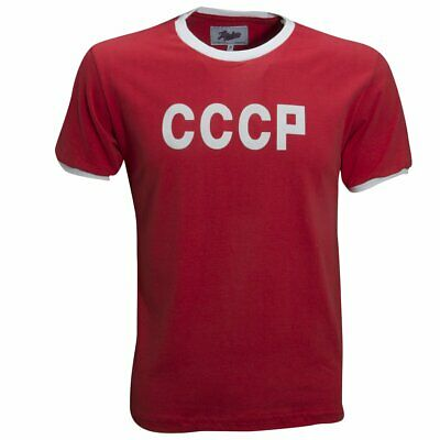 8686a307a30 Soviet Union (CCCP) 1970 Retro League Shirt Vintage Soccer Football Jersey