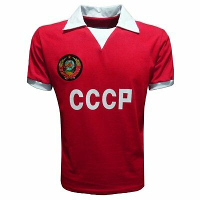 15061b17759 Soviet Union (CCCP) 1980 Retro League Shirt Vintage Soccer Football Jersey