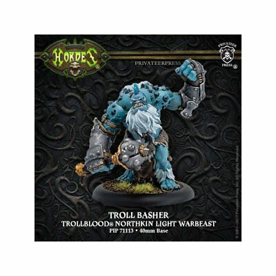 Hordes Trollbloods Troll Basher Light Warbeast PIP 71113