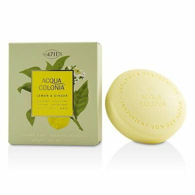 4711 Acqua Colonia Lemon & Ginger Aroma Soap 100g/3.5oz Mens Cologne