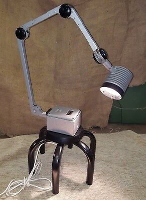 Vintage Industrial Upcycled Anglepoise  Duray Medical Lamp