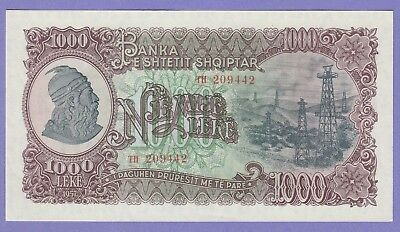 Albania,1000 Leke Banknote,1957 Uncirculated Condition Cat#32-A-9442