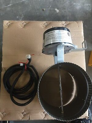 FIELD CONTROLS GVD-6PL GAS VENT DAMPER GVD6PL With Cable
