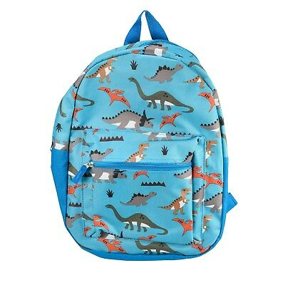 "15"" Kids Dinosaurs Backpack Pre School Toddler Book Bag Preschool Prehistoric"