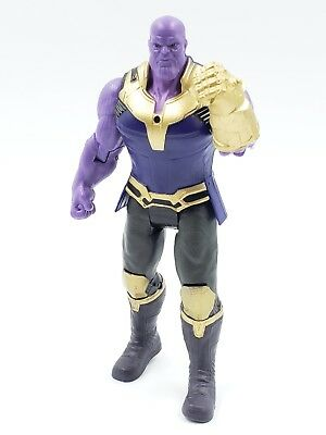 Marvel Avengers 3 Infinity War Movable Joints Thanos Action Figure Size 6.5 Inch