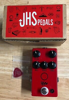 JHS Angry Charlie V3 Overdrive Pedal Excellent Condition