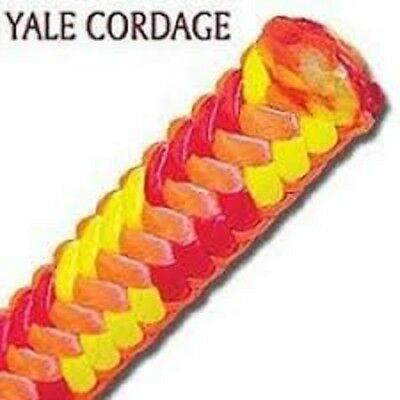Yale XTC-16 Fire 16 Strand Tree Climbing Rope With Spliced Eye 6,200 Tensile St