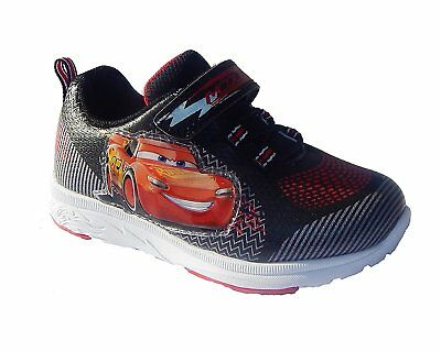 NEW Boys Disney Cars Lightning McQueen Light Up Shoes Sneakers Size 10 Toddler