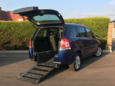 Vauxhall Zafira Wav Wheelchair Vehicle Automatic 38,000 Miles  Disabled Access