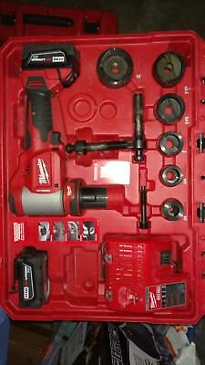 Milwaukee 2676-22  works great clean with battery case and charger used 1 day