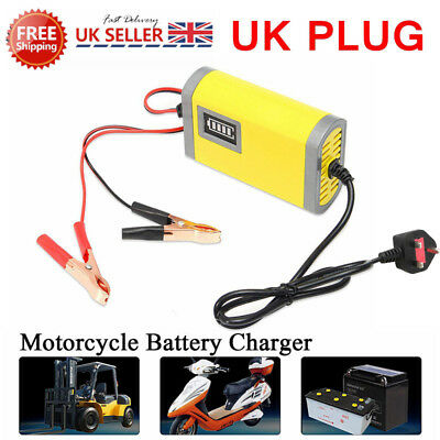 Intelligent 12V Motorcycle Motorbike Battery Charger Automatic Smart Trickle A71